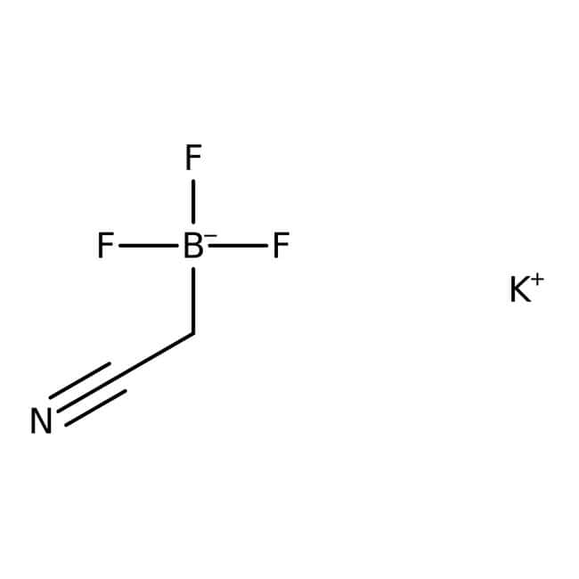 Potassium (cyanomethyl)trifluoroborate, 95%, ACROS Organics™ 1g Products