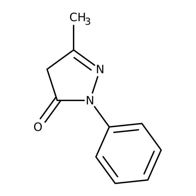3-Methyl-1-phenyl-5-pyrazolone 98.0+%, TCI America™