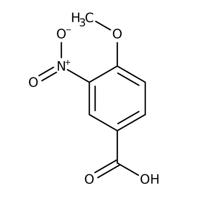 4-Methoxy-3-nitrobenzoic acid, 98%, ACROS Organics