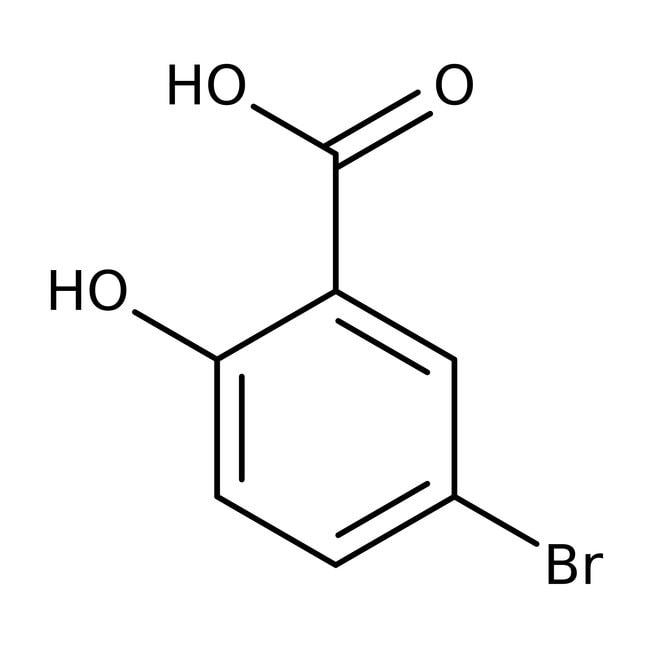 5-Bromosalicylic acid, 98%, ACROS Organics™ 250g 5-Bromosalicylic acid, 98%, ACROS Organics™