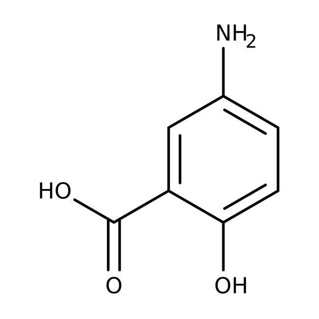5-Aminosalicylic acid, 99%, ACROS Organics™