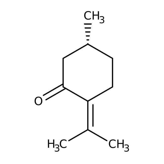 Pulegone, 92%, pract., ACROS Organics™ 500g; Glass bottle Pulegone, 92%, pract., ACROS Organics™