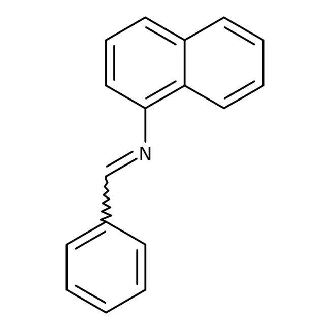 N-(1-Naphthyl)-N-(phenylmethylene)amine, 97%, Maybridge