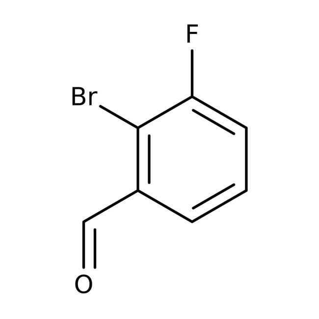 Alfa Aesar™2-Bromo-3-fluorobenzaldehyde, 98% 100g Alfa Aesar™2-Bromo-3-fluorobenzaldehyde, 98%