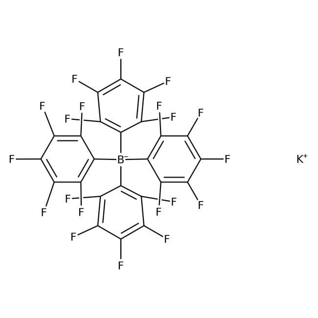 Alfa Aesar™Potassium tetrakis(pentafluorophenyl)borate, 97%