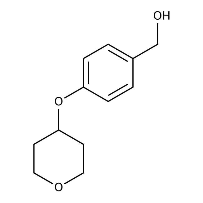 [4-(Tetrahydropyran-4-yloxy)phenyl]methanol, 97%, Maybridge™