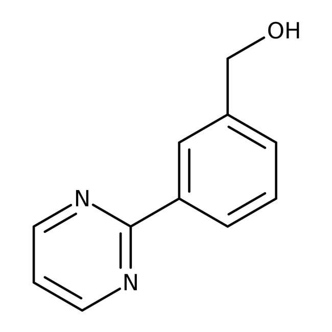 (3-Pyrimidin-2-ylphenyl)methanol, 97%, Maybridge™ Amber Glass Bottle; 1g (3-Pyrimidin-2-ylphenyl)methanol, 97%, Maybridge™