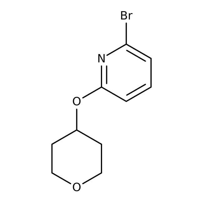 2-bromo-6-(tetrahydropyran-4-yloxy)pyridine, 97%, Maybridge™