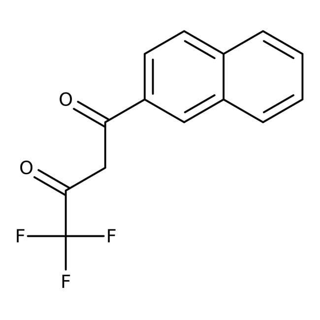 4,4,4-Trifluoro-1-(2-naphthyl)-1,3-butanedione 98.0 %, TCI America