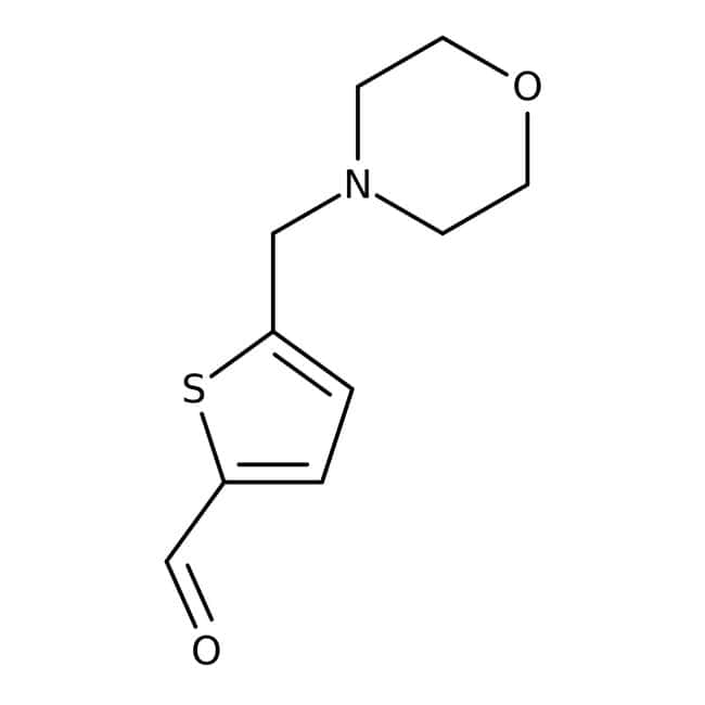 5-(morpholinomethyl)thiophene-2-carbaldehyde, 97%, Maybridge™
