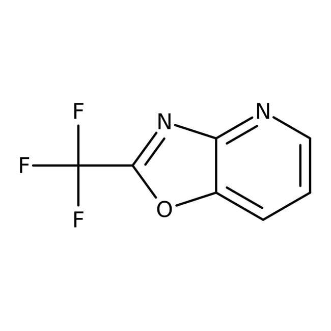 2-(Trifluoromethyl)oxazolo[4,5-b]pyridine, 97%, Alfa Aesar™ 1g 2-(Trifluoromethyl)oxazolo[4,5-b]pyridine, 97%, Alfa Aesar™