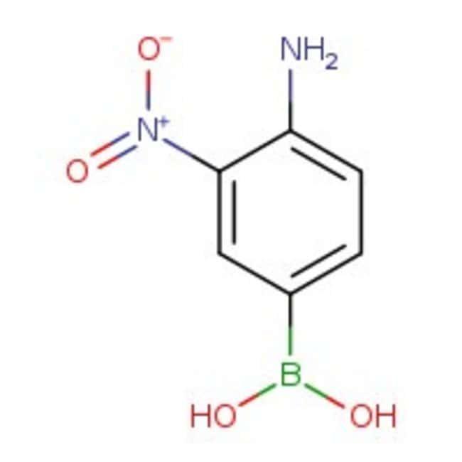 4-Amino-3-nitrophenylboronic acid, 97%, ACROS Organics™