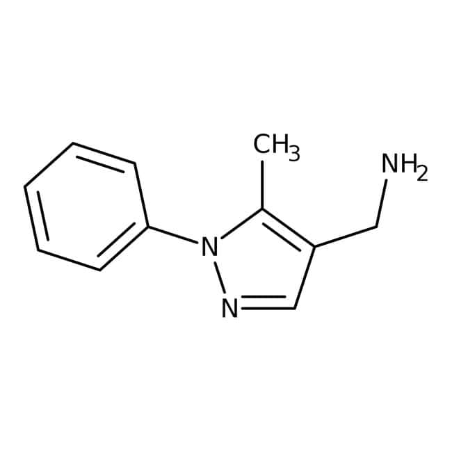 5-Methyl-1-phenyl-(1H-pyrazol-4-ylmethyl)amine, 95%, ACROS Organics™