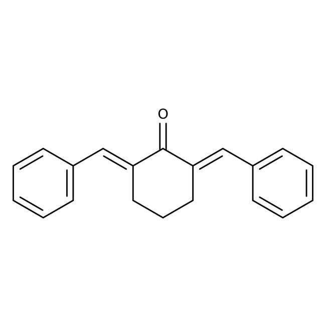 2,6-Dibenzylidenecyclohexanone, 98%, Acros Organics