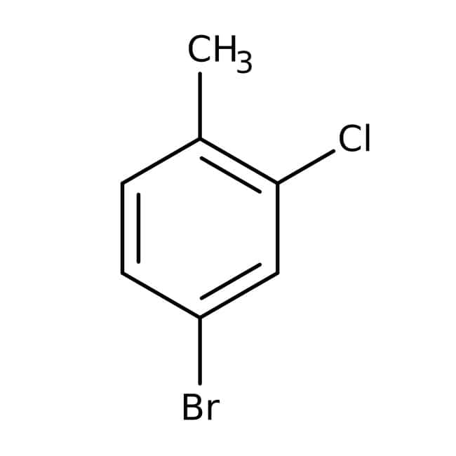4-Bromo-2-chlorotoluene, 98%, ACROS Organics™ 25g; Glass bottle 4-Bromo-2-chlorotoluene, 98%, ACROS Organics™