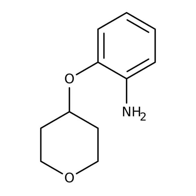 2-(Tetrahydropyran-4-yloxy)aniline, 95%, Maybridge™