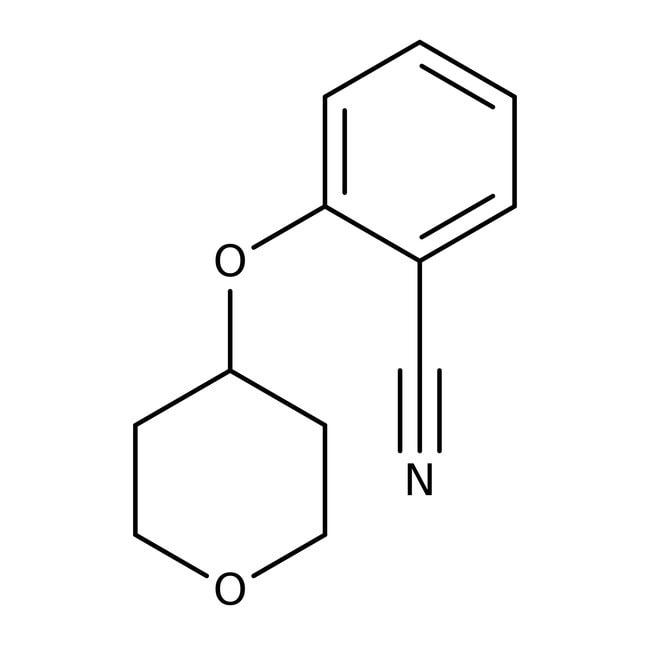 2-(Tetrahydropyran-4-yloxy)benzonitrile, 97%, Maybridge™