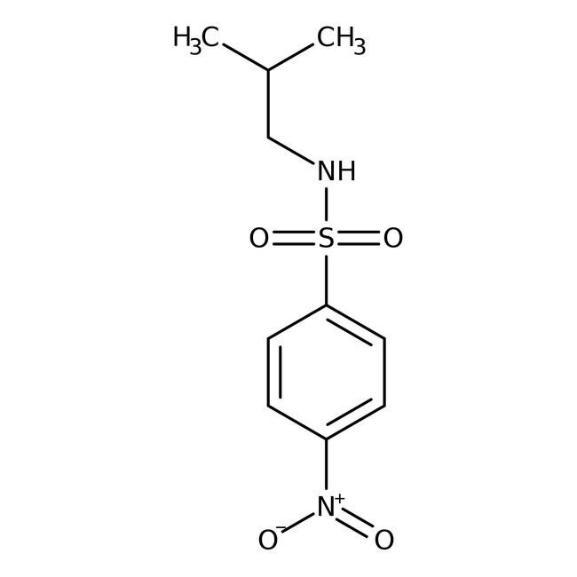 Alfa Aesar™N-Isobutyl-2-nitrobenzenesulfonamide, 97% 1g Alfa Aesar™N-Isobutyl-2-nitrobenzenesulfonamide, 97%