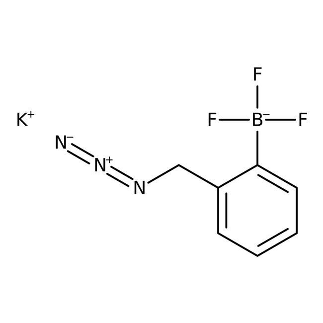 Alfa Aesar  Potassium 2-(azidomethyl)phenyltrifluoroborate, 95%, Thermo Scientific