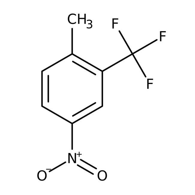 Alfa Aesar™2-Methyl-5-nitrobenzotrifluoride, 98% 5g Alfa Aesar™2-Methyl-5-nitrobenzotrifluoride, 98%
