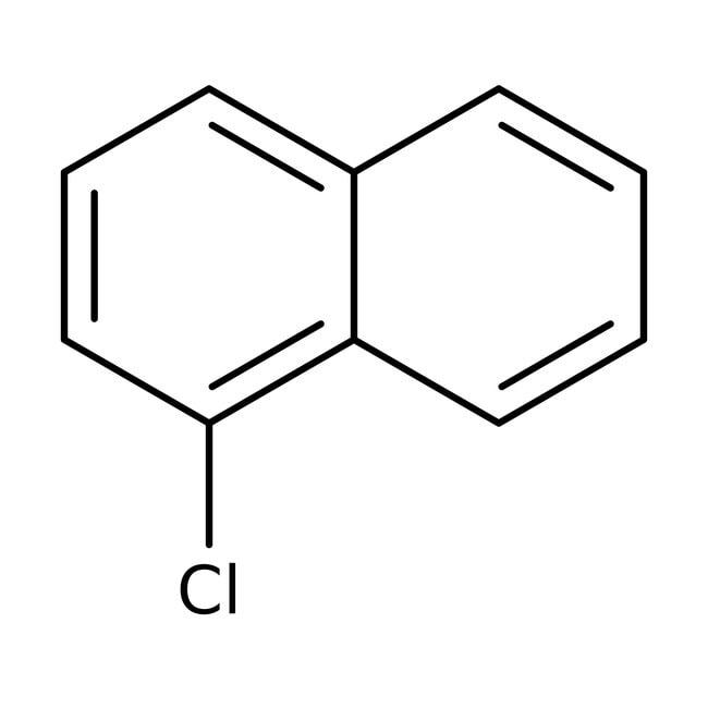 1-Chloronaphthalene, 85%, technical, remainder 2-Chloronaphthalene, ACROS Organics™ 2.5L; Glass bottle prodotti trovati