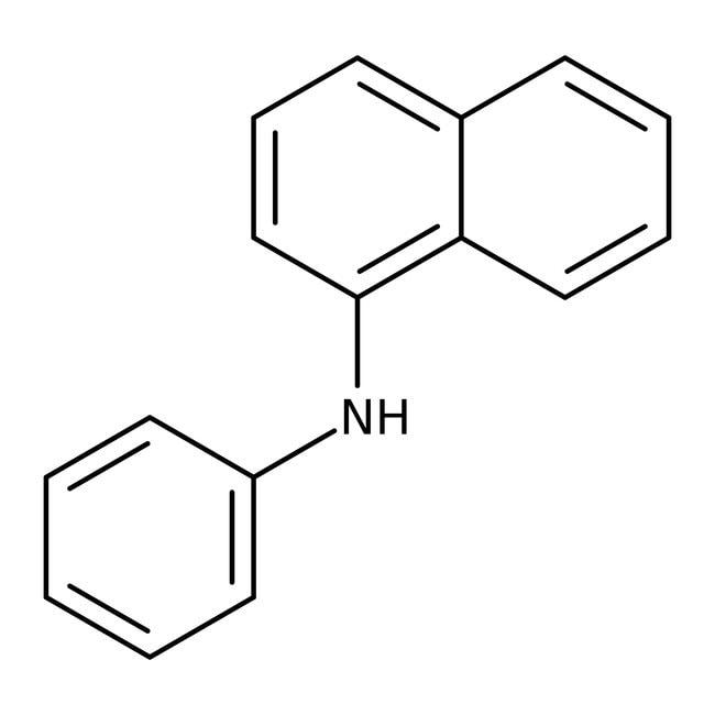 N-Phenyl-1-naphthylamine, 98%, Acros Organics 25g; Plastic bottle N-Phenyl-1-naphthylamine, 98%, Acros Organics