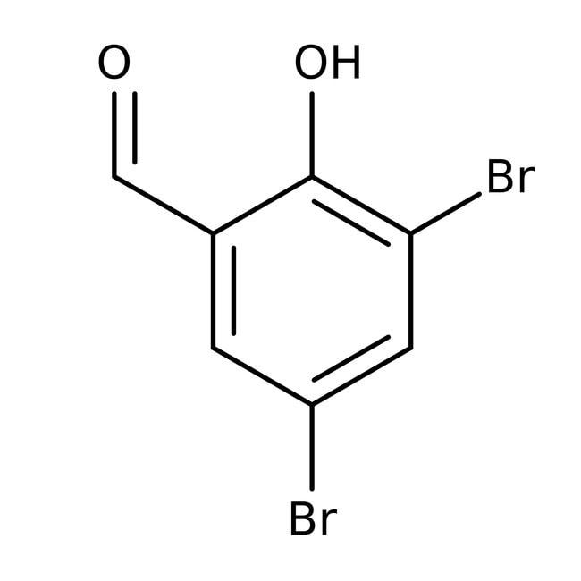3,5-Dibromosalicylaldehyde, 98%, ACROS Organics™ 1g 3,5-Dibromosalicylaldehyde, 98%, ACROS Organics™