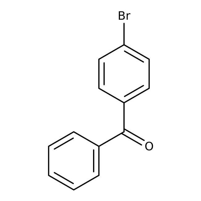 Alfa Aesar™4-Bromobenzophenone, 98%: Benzene and substituted derivatives Benzenoids
