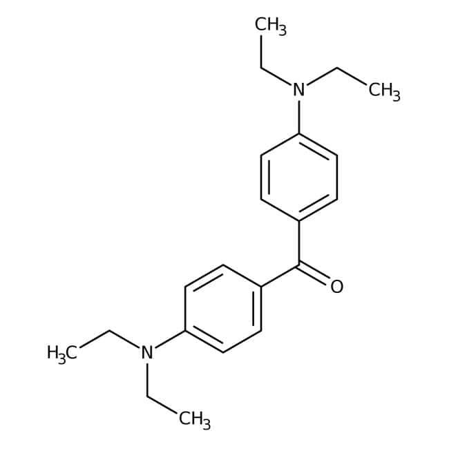 4,4'-Bis(diethylamino)benzophenone, 99+%, ACROS Organics™: Benzene and substituted derivatives Benzenoids