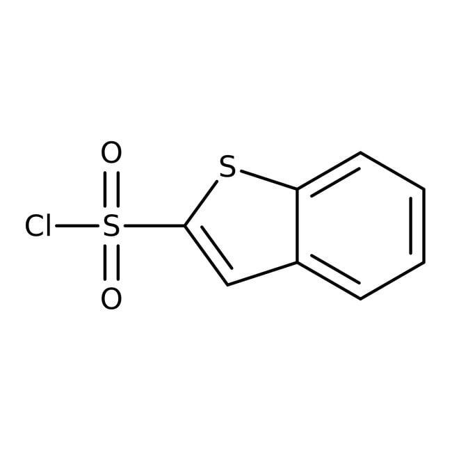 1-Benzothiophene-2-sulfonyl chloride, 97%, Maybridge™