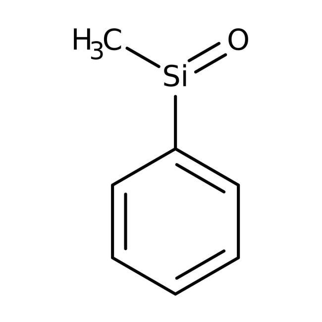 Alfa Aesar™Polyphenylmethylsiloxane, MW 2500-2700