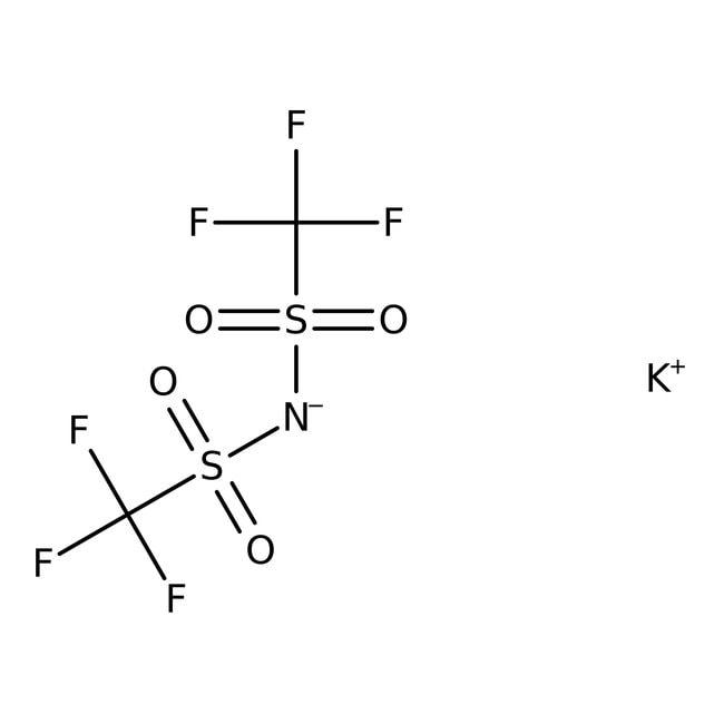 Alfa Aesar™Potassium bis(trifluoromethylsulfonyl)imide 250mg Alfa Aesar™Potassium bis(trifluoromethylsulfonyl)imide