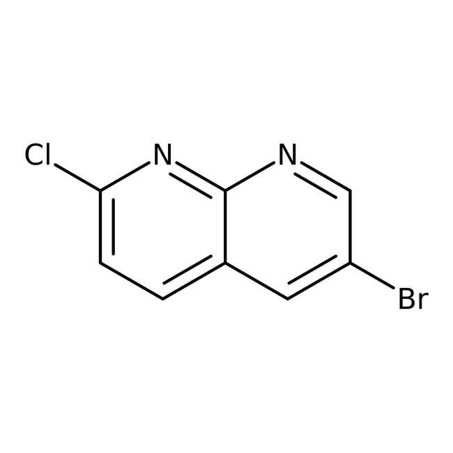 Alfa Aesar™6-Bromo-2-cloro-1,8-naftiridina, 96% 1g Alfa Aesar™6-Bromo-2-cloro-1,8-naftiridina, 96%