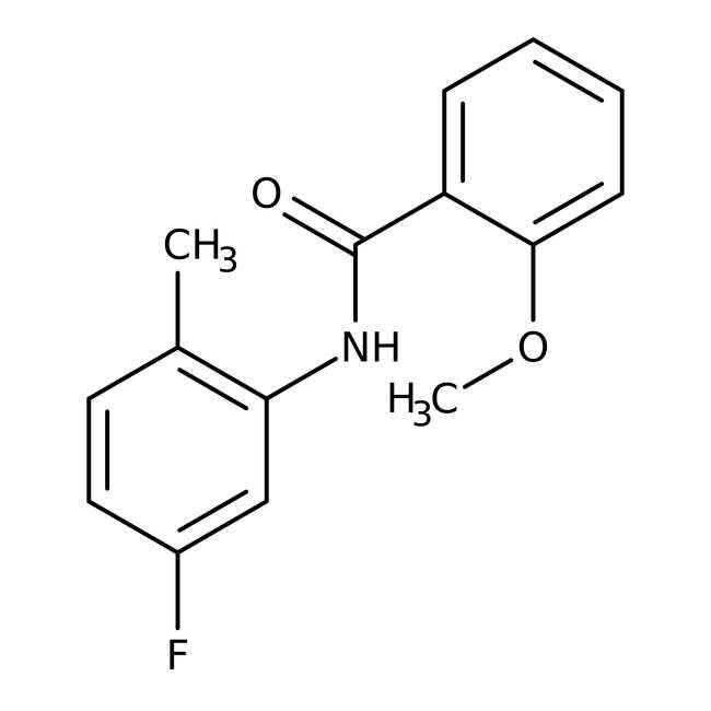 Alfa Aesar™N-(5-Fluoro-2-methylphenyl)-2-methoxybenzamide, 97% 1g Alfa Aesar™N-(5-Fluoro-2-methylphenyl)-2-methoxybenzamide, 97%