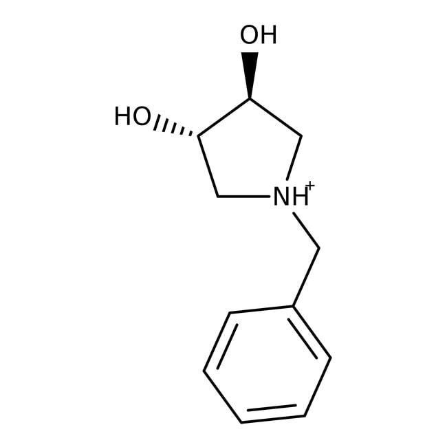 (3S,4S)-(+)-1-Benzyl-3,4-pyrrolidindiol, 97%, ACROS Organics