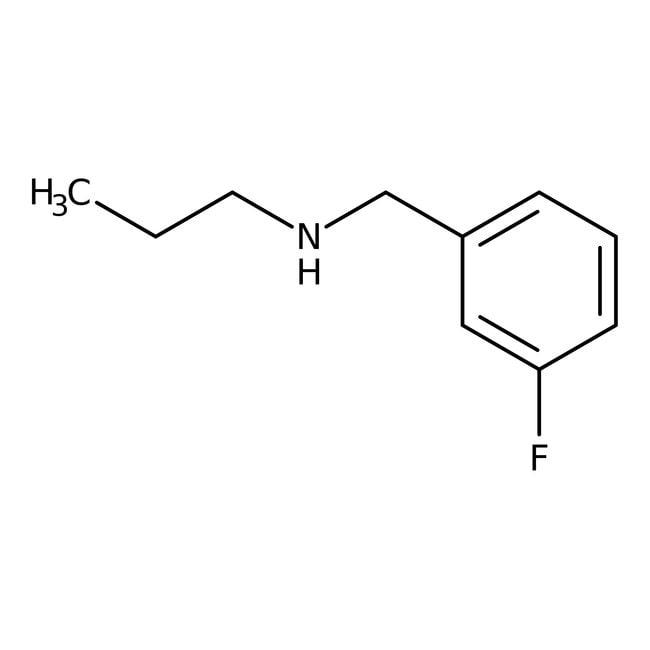 Alfa Aesar™3-fluoro-N-n-propylbenzylamine, 97% 250mg Alfa Aesar™3-fluoro-N-n-propylbenzylamine, 97%