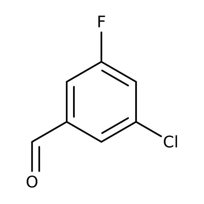 3-chloro-5-fluorobenzaldehyde, 97%, ACROS Organics™ 5g 3-chloro-5-fluorobenzaldehyde, 97%, ACROS Organics™