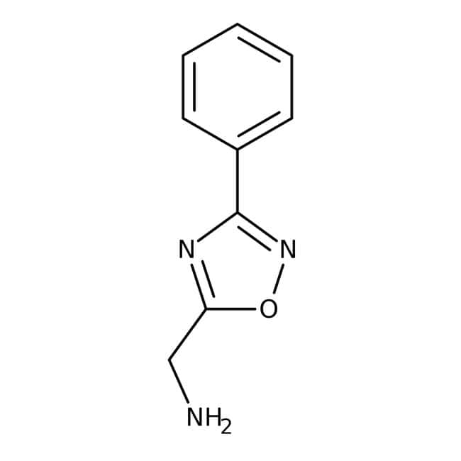 (3-Phenyl-1,2,4-oxadiazol-5-yl)methylamine, 97%, Maybridge™
