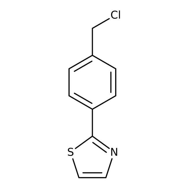 2-[4-(Chloromethyl)phenyl]-1,3-thiazole, 97%, Maybridge™: Benzyl halides Benzene and substituted derivatives