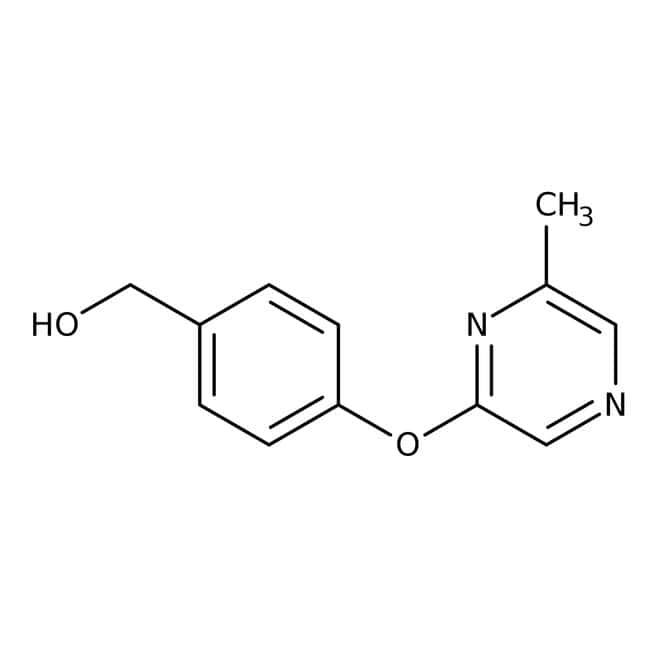 {4-[(6-Methylpyrazin-2-yl)oxy]phenyl}methanol, 97%, Maybridge™: Benzene and substituted derivatives Benzenoids