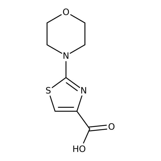 2-Morpholin-1,3-thiazol-4-carboxylsäure, 97%, Maybridge: Thiazoles Azoles