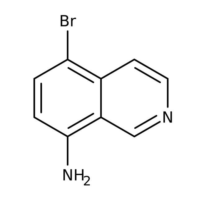 8-Amino-5-bromoisoquinoline, 97%, ACROS Organics™ 5g 8-Amino-5-bromoisoquinoline, 97%, ACROS Organics™