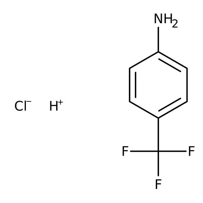 Alfa Aesar™4-(Trifluoromethyl)aniline hydrochloride, 97% 5g prodotti trovati