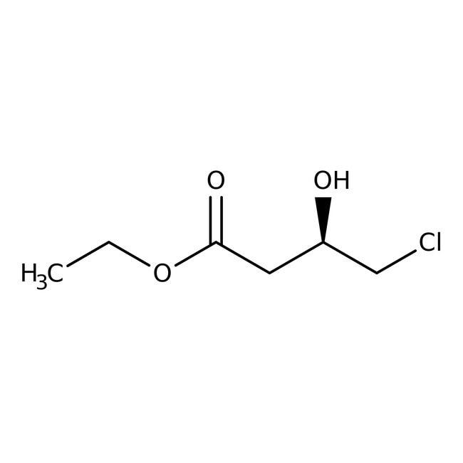 Alfa Aesar™(R)-(+)-4-chloro-3-hydroxybutyrate d'éthyle, 97%, ee 96% 5g Alfa Aesar™(R)-(+)-4-chloro-3-hydroxybutyrate d'éthyle, 97%, ee 96%