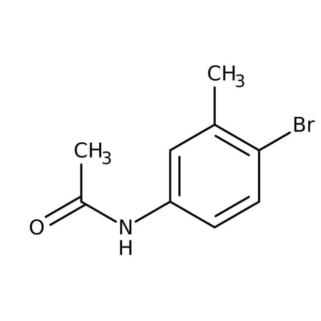 Alfa Aesar™4'-Bromo-3'-methylacetanilide, 98% 25g Alfa Aesar™4'-Bromo-3'-methylacetanilide, 98%