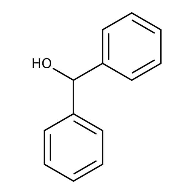 Benzhydrol, 99%, ACROS Organics™ 100g; Plastic bottle Benzhydrol, 99%, ACROS Organics™