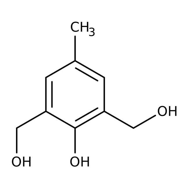 Alfa Aesar™2,6-Bis(hydroxymethyl)-p-cresol, tech. 90% 25g Alfa Aesar™2,6-Bis(hydroxymethyl)-p-cresol, tech. 90%