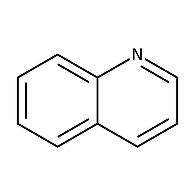 Quinoline, 99%, ACROS Organics™ 5g; Glass bottle Quinoline, 99%, ACROS Organics™