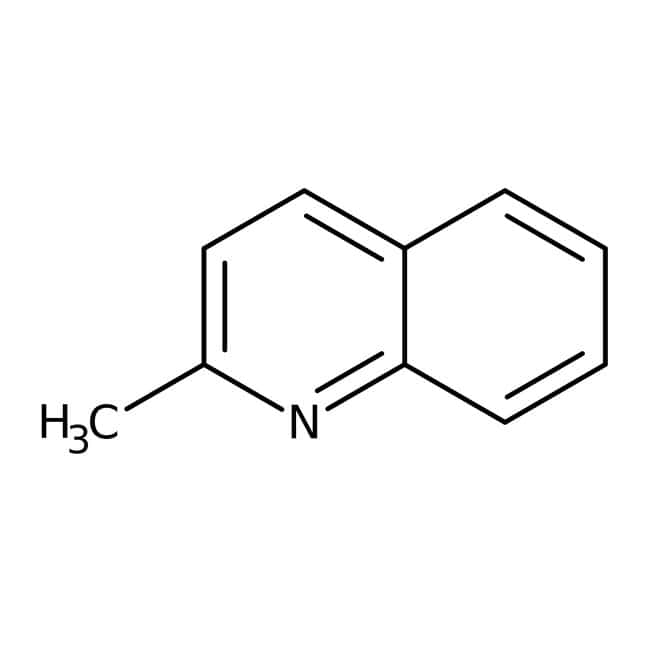 Quinaldine, 95+%, ACROS Organics™ Glass bottle; 1l Quinaldine, 95+%, ACROS Organics™