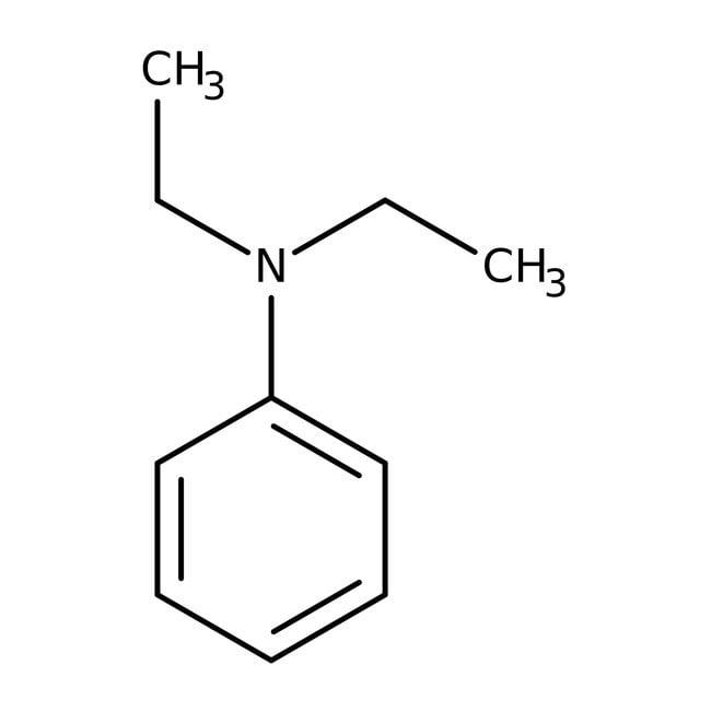 N,N-Diéthylaniline, 99%, ACROS Organics™ 1L; flacon en verre N,N-Diéthylaniline, 99%, ACROS Organics™
